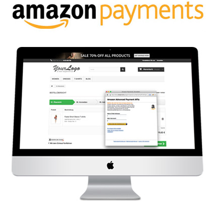 Amazon payments modul für PrestaShop